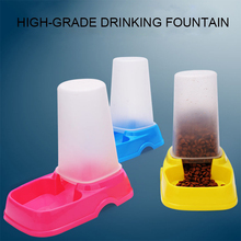 High-Grade Drinking Fountain Colorful Plastic Pet Automatic Food Feeders Water Feeders, Feeders-009