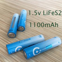 Big sale 4PCS 1.5V AAA Lithium battery 1100mah 3A LiFeS2 cell dry primary battery for camera and toys electric shaver(China)