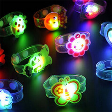 toys for children dolls Light Flash Toys Wrist Hand Take Dance Party Dinner Party Color Hand Ring Creativity Glowing Hot