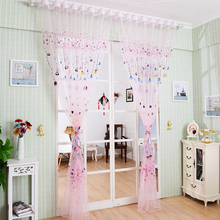 1*2.7M Tulle Curtains For Bedroom New 2016 Brand Balloons Curtains For Living Room Hot Sales Window Curtains