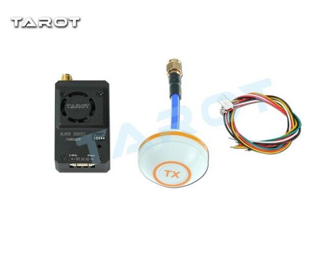 F17389 Tarot TL300N4 5.8G 32CH 1000mW Wireless AV Transmitter with Aluminum Case + Mushroom Antenna Sender Set<br>