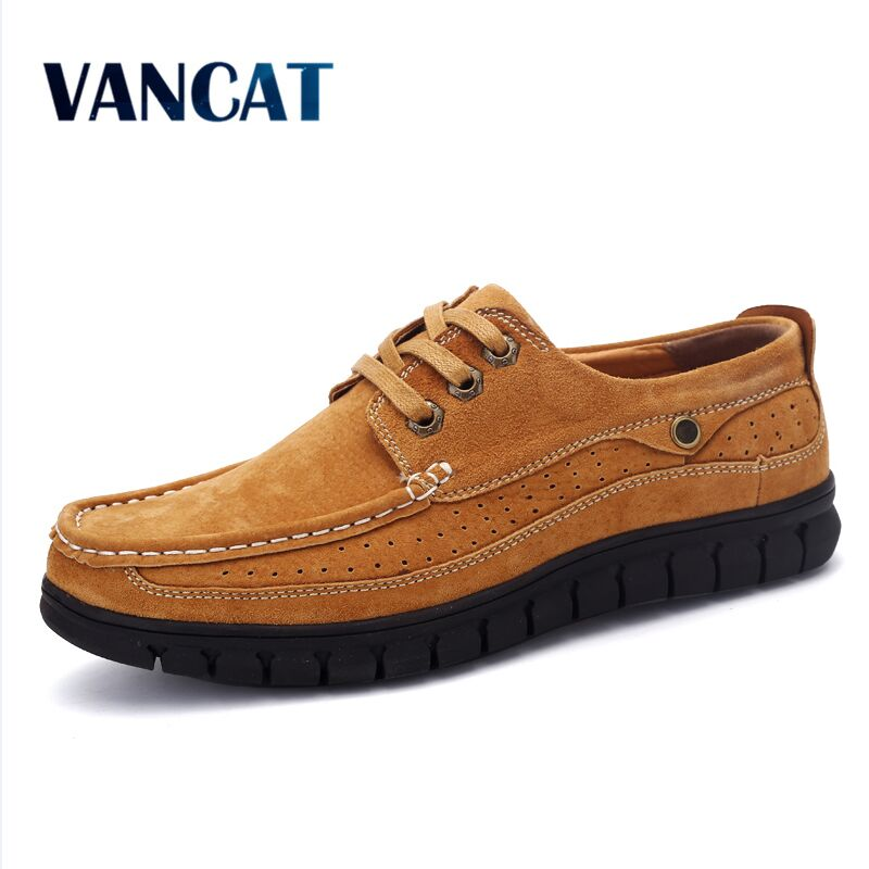 VANCAT Mens Genuine Leather Shoes Business Dress Moccasins Flats Slip On New Mens Casual Shoes Dress Mens Business Shoes <br>