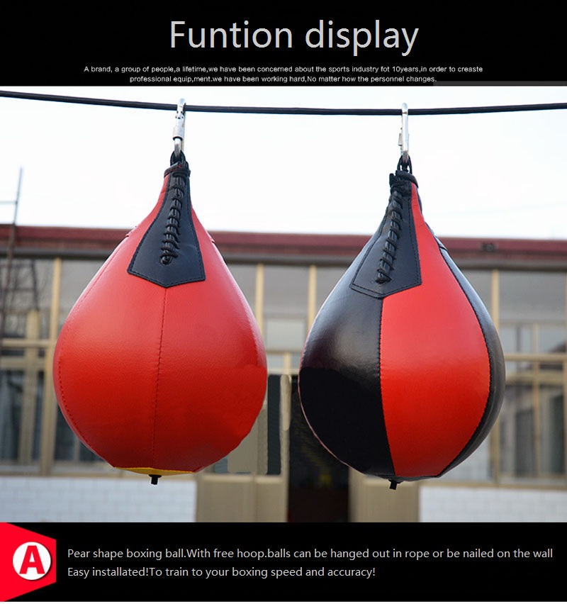 MagiDeal Boxing Speed Ball Dodge Punch Bag Hanging Punching Training Aids