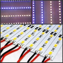 5/10/20/40pcs 0.25m Hard led Bar light 12V 25cm 18 led SMD 5630/5730 Aluminum alloy Led Strip light home Decoration(China)