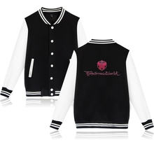 Buy 2018 Tomorrowland Baseball Jacket Women Print Ready College Baseball Jackets Coat Black Fashion Autumn Jacket Clothes for $15.99 in AliExpress store