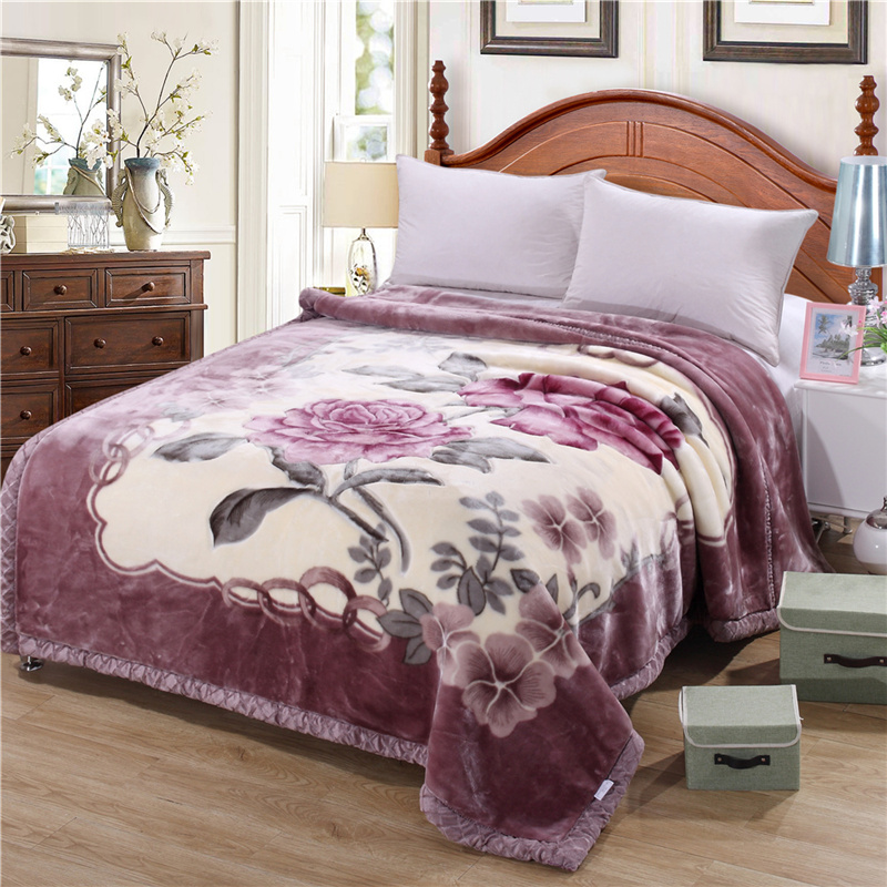 MECEROCK-New-Style-Raschel-Blanket-for-Winter-Thick-Warm-Soft-Touch-Blanket-for-Bed-Prevent-Cold