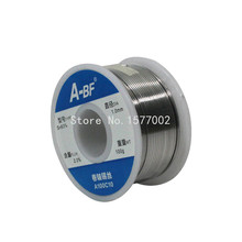 A-BF 0.6mm-0.8mm-1mm 100g Tin Wire Melt Rosin Core Solder Soldering Wire Roll  Free shipping