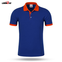 Accept custom diy logo New 2016 Polo Shirt For Men Designer Polos Men Cotton Men loose Short Sleeve Jerseys polo shirts t(China)