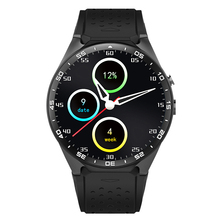 Buy KW88 WIFI GPS Sapphire Mirror Smart watch Android 5.1 iOS MTK6580 Heart Rate GPS Google Play KW88 512MB/4GB for $114.99 in AliExpress store