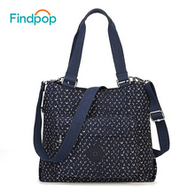 Findpop Vintage Women's Handbags Canvas Crossbody Bags For Women 2017 Casual Ladies Tote Bag Waterproof Geometric Crossbody Bags(China)