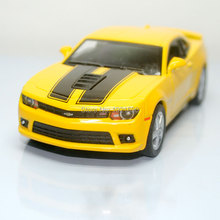 Brand New KT 1/38 Scale USA 2014 Chevrolet Camaro Diecast Metal Pull Back Car Model Toy For Collection/Gift/Kids/Decoration(China)