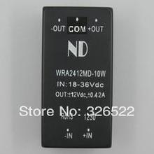 DC/DC converters 24V step down to 12V 10W Dual output wide input voltage dc dc power modules