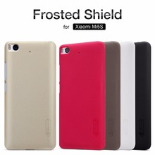 Original Nillkin Super Frosted Shield Hard Back PC Cover Case for Xiaomi M5S Mi5S Phone Case+Screen Protector