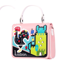 21x18CM Italy, The New Autumn And Winter Counters Lisbon Limited Edition Handbags Shoulder Bag A2773(China)