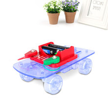 Solar Car Vehicle Circuit Assembly Building Toys Electronic Gifts Fashion(China)