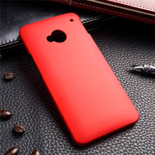 TAOYUNXI Matte Rubber Cases For HTC ONE M7 802W 802D 802T (Dual Sim) Case Cover Hybrid Hard Plastic Back Cover Housing Shell(China)