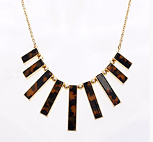 Top Quality Fashion Leopard Necklaces Alloy Choker Gold Neckaces Fashion Jewelry Wholesale A804