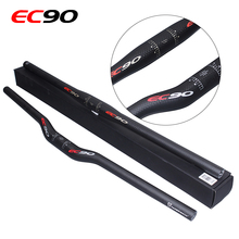 2017 Carbon Handlebar Bicycle Carbon Fiber Matte Mountain Bike Handlebar 31.8*600mm-720mm MTB Bicycle Part Horizontal Handlebar(China)