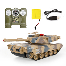 2016 Top Remote Control Tank Against RC Tanks parent-child against infrared Remote Control with turret Tank model Battle Toy Car(China)