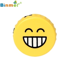 Beautiful Gift 100% Brand New 2017 Fashion Laugh Face MP3 Player Support Micro SD TF Card Music Media Wholesale price_KXL0530(China)