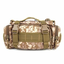 New Multi-function Fishing Tackle Bag Waterproof Canvas Waist Fishing Lure Bag