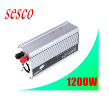 solar panel inverter dc to ac 1200w modified sine wave 12v