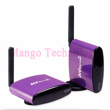 2016 New PAT-650 5.8GHz 300m Wireless STB AV Sender TV Audio Video Transmitter & Receiver Set for IPTV DVD With EU US UK AU Plug