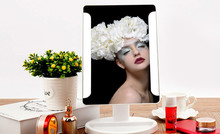 Fashion 36 LED USB Power Portable Folding Toilet Lighted Cosmetic Mirror
