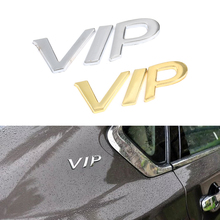 Buy Brand New 3D Silver Gold VIP Metal Car Chrome Emblem Badge Decal Door Window Body Auto Decor DIY Sticker Car Decoration for $2.03 in AliExpress store