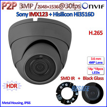 H.265 Hi3516D 1080P mini ip camera P2P IMX123 Sensor 2MP 3.0MP PoE ONVIF Security SMD IR LED, 3.6mm Lens, WDR, IR-CUT - BEsafe Technology store