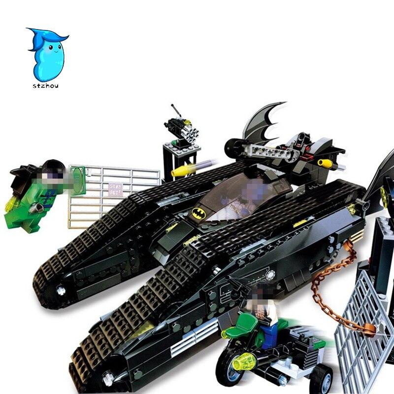 Lepin 07067 673pcs Super heroes MOC Series The Bat Tank Children Educational Building Blocks Bricks Toys Model Gifts for boys<br>
