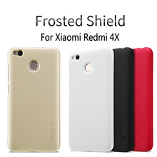 Buy 4X Nillkin Frosted Shield Case Xiaomi Redmi 4X Hongmi 4X 5.0inch Ultra Thin Slim Hard Back Cover Case Free Film NS03 for $7.19 in AliExpress store