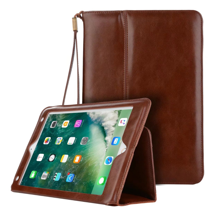 For Apple iPad Pro 10.5 Genuine Leather Case Luxury Business Slim Smart Cover Flip Wallet Bag Tablet Case for iPad Pro 10.5<br>