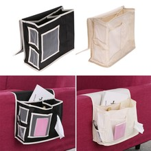 Homewares Bedside Sofa Storage Bag Sundries Holder Case Organizer Household Hanging Bag For Remote Control Magazines Phone