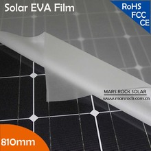100meters 810mm Width 0.5mm Thickness Solar EVA Film for Encapsulating Solar Panel Modules---Under promotion!!!!(China)