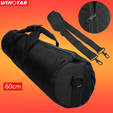 "23"" 60cm 60 cm Black Padded Carry Carrying Bag Case for Light Stand Tripod Monopod,free tracking number"