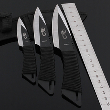 3 piece/Lot straight knife outdoor survival knife  diving knives  free shipping