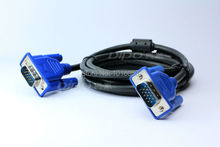 DIPO vga cable 3m 9.8ft 3+6 / pc to monitor or projector vga cables and Clear display Export Factory Outlets of china