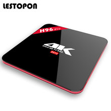 LESTOPON Smart Tv Android Box OS 6.0 4K Amlogic S912 Octa Core WIFI HDMI Bluetooth Flash H96 Pro Tvbox Television Media Player