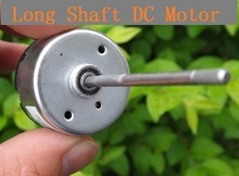 4PCS Long Shaft DC 12V Motor For Toy DIY Small Motor 4500RPM