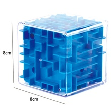 Low Price Funny 3D Maze Magic Cube Puzzle Speed Cube Puzzle Game Labyrinth Ball Toys Maze Ball Games Educational Toys(China)