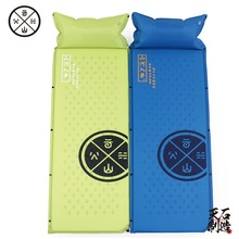 HIGHROCK Self Inflating Sleeping Pad Automatic Inflatable Camping Mat Tent Bed with Pillow 185*60*2.5cm(China)
