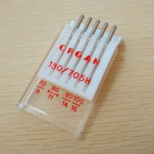 knitting need for Organ Sewing Needles Organ Needles Top Quality Machine Needles UNIVERSAL Needles For General Fabrics 130/705H(China)