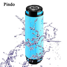 Pindo 20W Super Bass Outdoor Car bike Bluetooth Speaker 10000mAH Power Bank Portable 3D Stereo HIFI Wireless Speaker with Mic