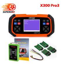 2017 OBDSTAR X300 PRO3 Key Master OBDII X300 Key Programmer Odometer Correction Tool EEPROM/PIC Update Online same as skp1000(China)
