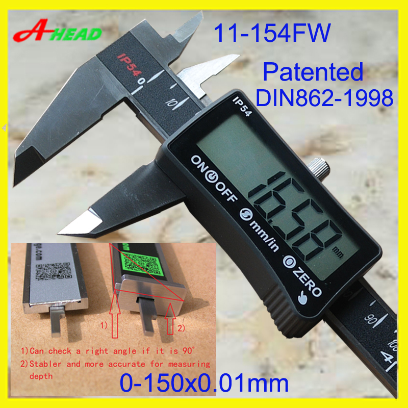 IP54 Digital caliper Penta(five-way)measurement digital caliper digital vernier caliper<br>