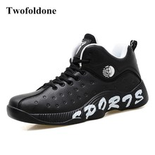 Quality Cheap Basketball Sneakers for men Sport shoes artificial leather Basket Boys Basketball shoes for women(China)