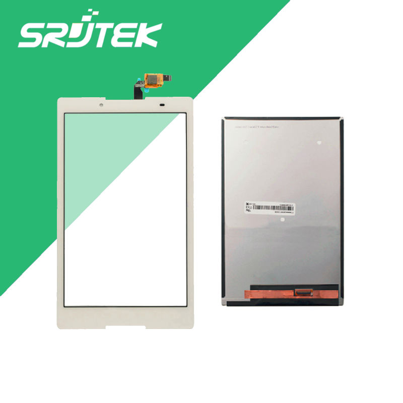 Wholesale 8 inch White For Lenovo Tab 2 A8-50F A8-50LC LCD Display +Touch Digitizer Sensors Separatly Tablet Pc<br>