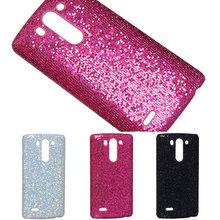 Hot sale Sexy Lady Luxury Shiny bling football skin glitter grain Hard Case For LG Optimus G3 Mini protector shell back cover