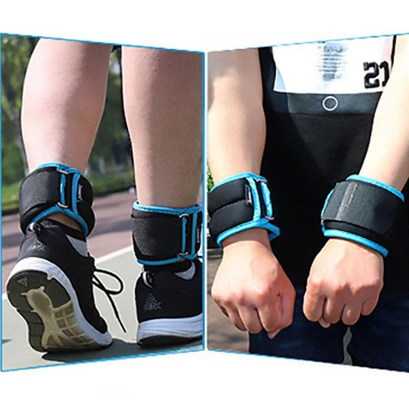 Set 2 Knöchel Handgelenk Gewicht Laufen Gurt Fitness Workout Training Paar